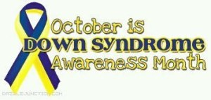 Down syndrome awareness month