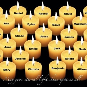 candle pic Newton Victims