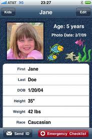 kids id phone app
