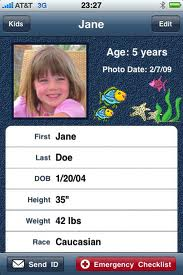 kids id phone app