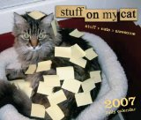 stuff on my cat post its