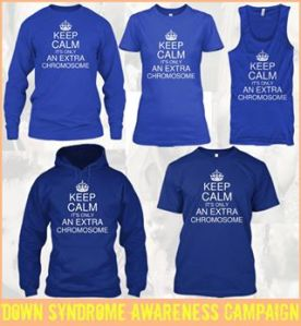 keep calm extra chromosome