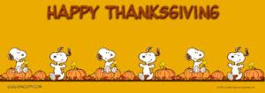 snoopy thanksgiving