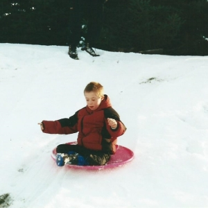 nick sledding