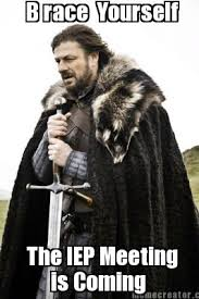 brace yourself IEP