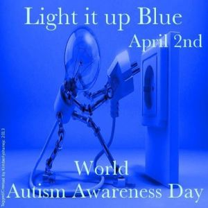 light it up blue