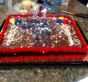 Nick 21 cake