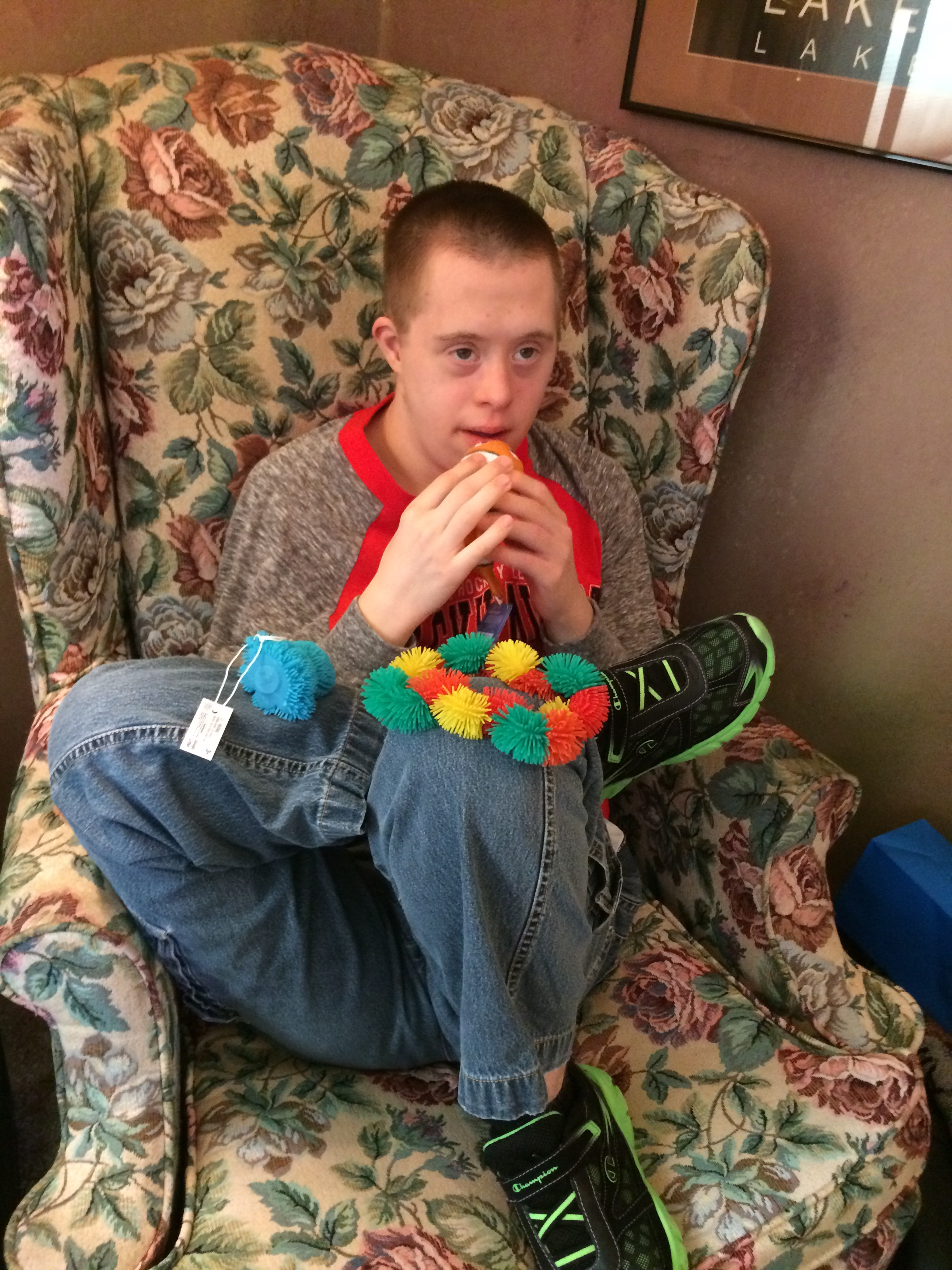 Sensory toys – Down Syndrome with a Slice of Autism