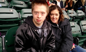 Sox  Nick and mom