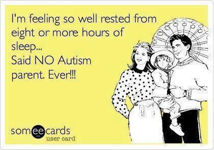 autism and sleep cartoon