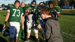 Nick and Football team