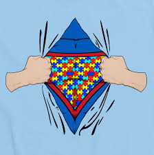 autism puzzle superman