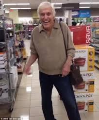 Dick Van Dyke at store