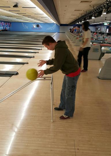 Nick bowling ramp