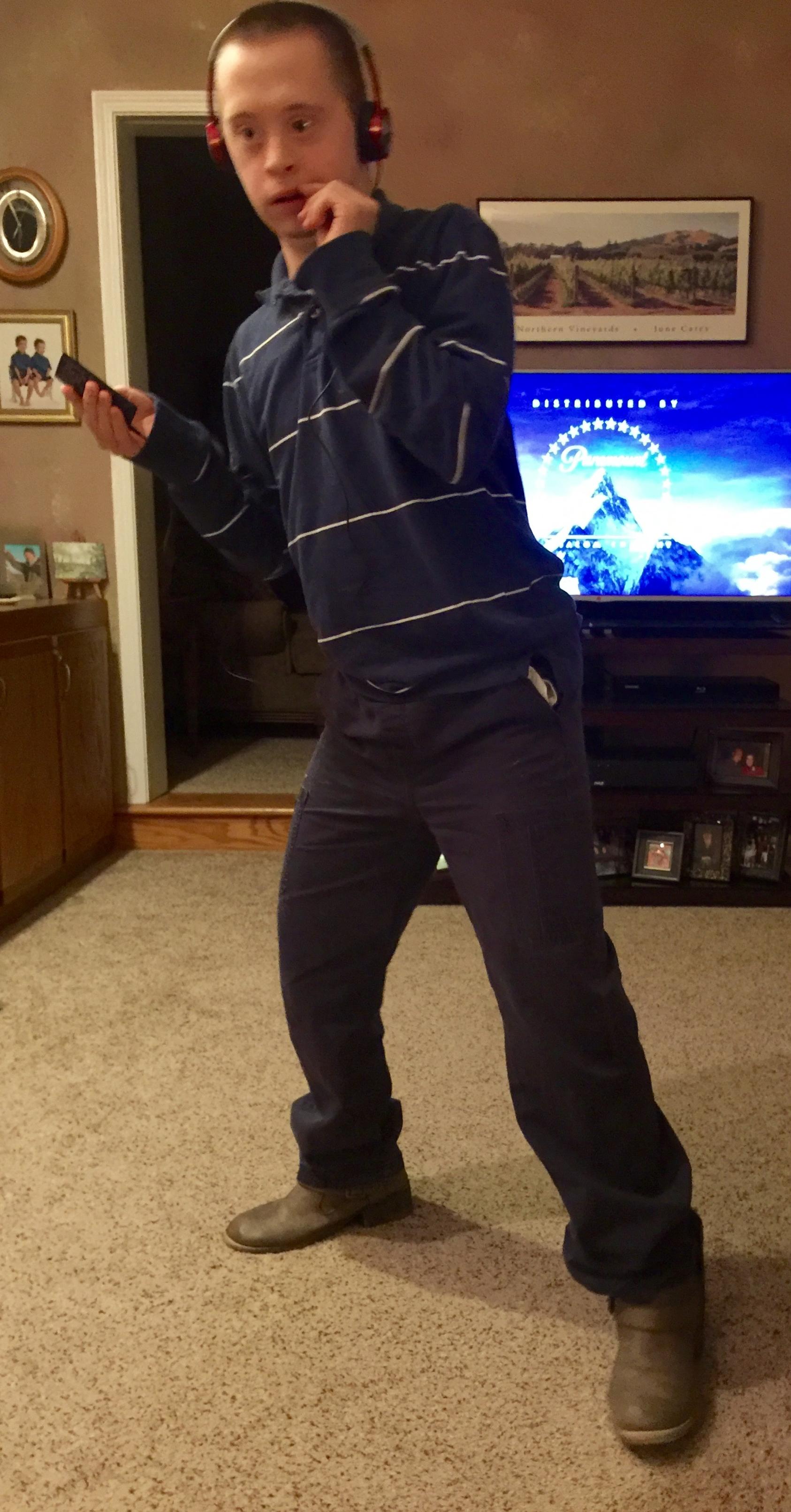 Nick Dancing