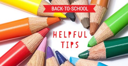 Back to school helpful tips