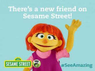 Julia Sesame Street