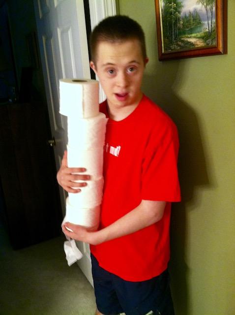 Nick toilet paper