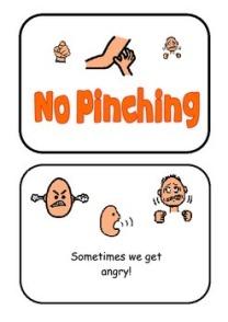 No pinching