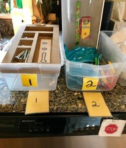 bins 1 and 2