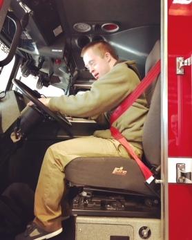 Nick fire truck