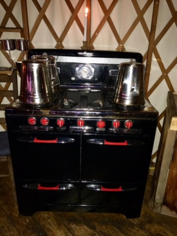 yurt stove