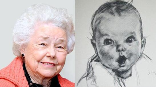 Gerber Baby now and then