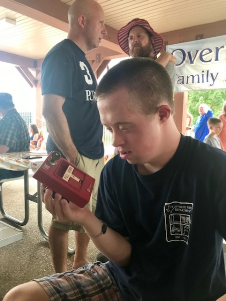 Nick fire alarm at branson