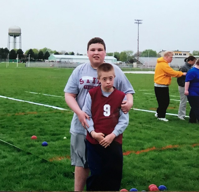 nick special olympics bocce two