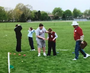 Nick special olympics bocce