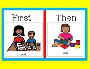 first then work