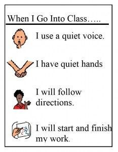 social-stories go to class