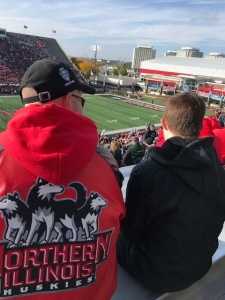 NIU football game