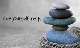 let yourself rest