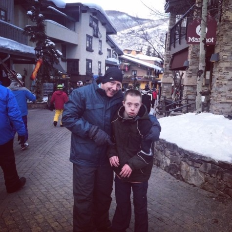 Nick and Dad in Vail 2019