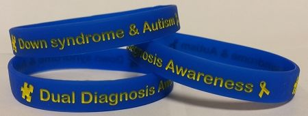 down syndrome and autism bracelet