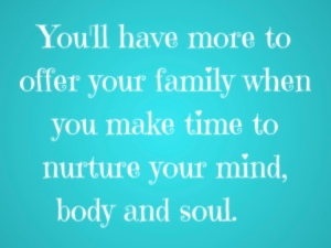 mom quote body, mind soul