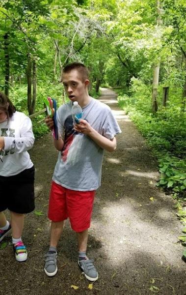 Nick nature walk keeler